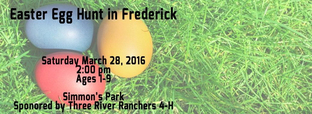 Eastser Egg Hunt 2016 Frederick SD