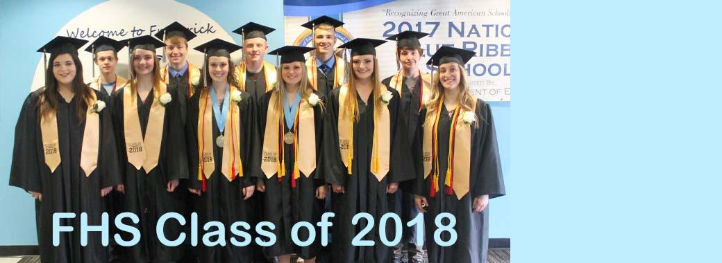 Frederick High School class of 2018