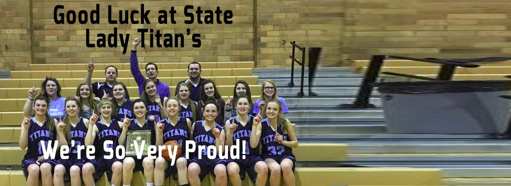 Leola-Frederick Lady Titans going to state B tournament