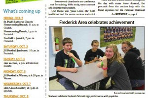 Frederick FYI News - Oct. 2015