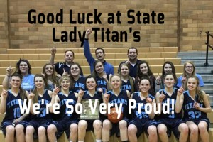Lady Titan's Going to State B's