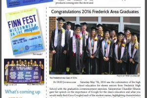 Frederick FYI News June 2016 Cover
