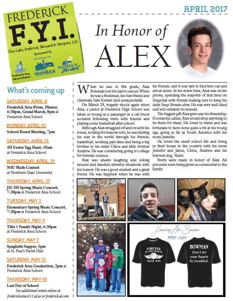 Frederick FYI News April 2017