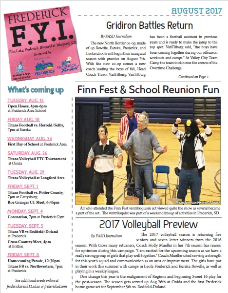 Frederick FYI News 2017