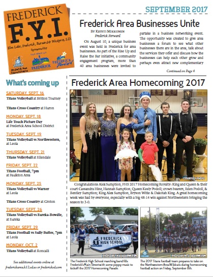 Frederick FYI News Sept 2017