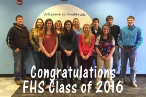 Frederick High School graduating class of 2016