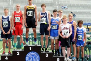 Sumption fifth at SD state track