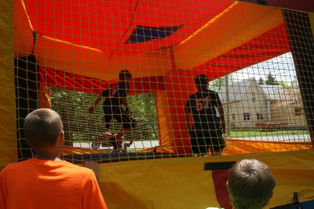 Inflatables at Finn Fest 2013