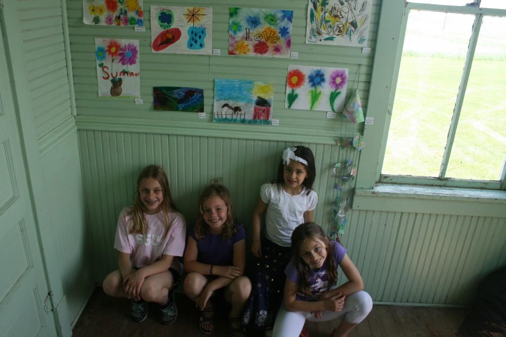Kids Corner, Art Show, Finn Fest 2013