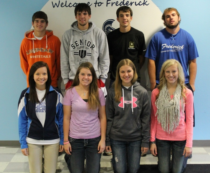 2013 Frederick HS Homecoming Candidates