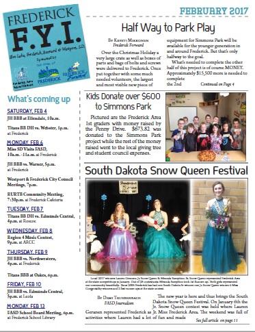 Frederick FYI News Feb 2017