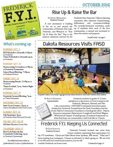 Frederick FYI News Oct 2016