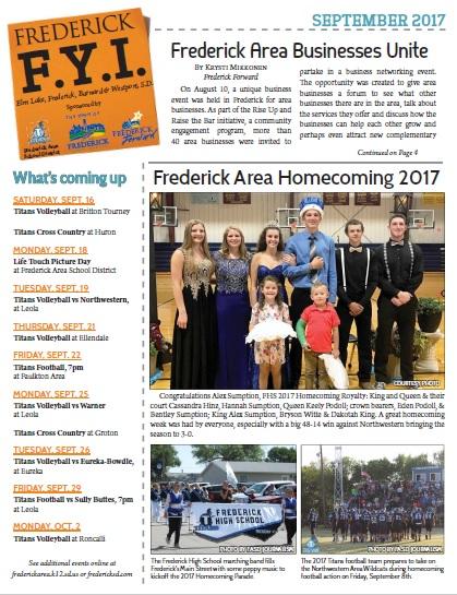 Frederick FYI News Sept 2017