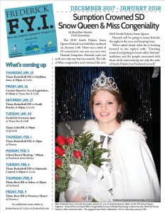 Frederick FYI News Dec-Jan 2018 Cover