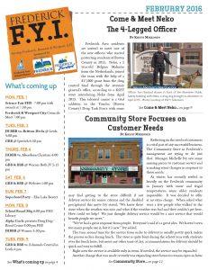 Frederick FYI News February 2016 Cover